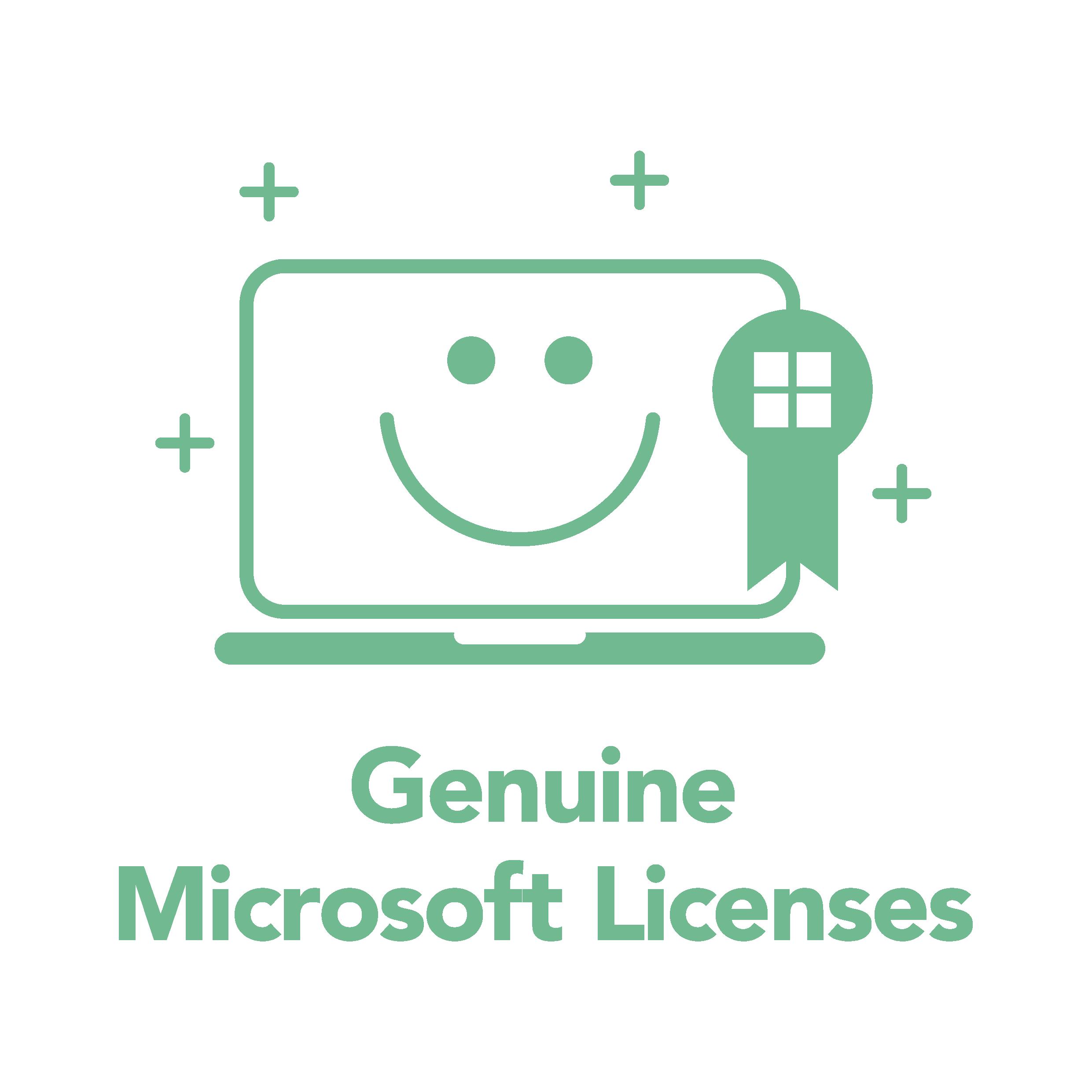 Genuine Microsoft Licenses